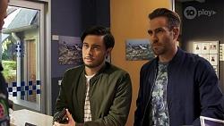 David Tanaka, Aaron Brennan in Neighbours Episode 8670