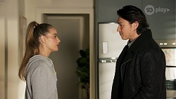 Chloe Brennan, Leo Tanaka in Neighbours Episode 8670