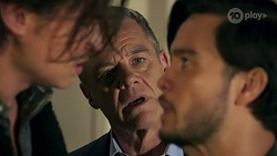 Leo Tanaka, Paul Robinson, David Tanaka in Neighbours Episode 8670