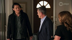 Leo Tanaka, Paul Robinson, Terese Willis in Neighbours Episode 8671