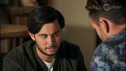 David Tanaka, Aaron Brennan in Neighbours Episode 8671
