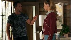 Aaron Brennan, Chloe Brennan in Neighbours Episode 8671