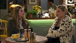 Mackenzie Hargreaves, Roxy Willis in Neighbours Episode 8671