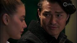 Chloe Brennan, Leo Tanaka in Neighbours Episode 8672