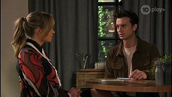 Harlow Robinson, Jesse Porter in Neighbours Episode 8672