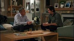 Paul Robinson, Leo Tanaka in Neighbours Episode 8672