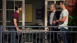 David Tanaka, Paul Robinson, Aaron Brennan in Neighbours Episode 8672