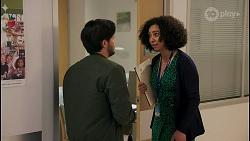 David Tanaka, Dr Stevie Hart in Neighbours Episode 8672