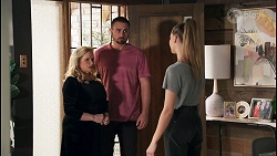 Sheila Canning, Kyle Canning, Chloe Brennan in Neighbours Episode 8673