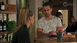 Chloe Brennan, Aaron Brennan, Terese Willis in Neighbours Episode 8673