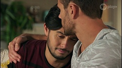 David Tanaka, Aaron Brennan in Neighbours Episode 8673