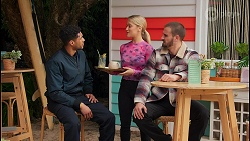 Levi Canning, Roxy Willis, Kyle Canning in Neighbours Episode 8674