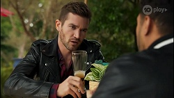 Ned Willis, Levi Canning in Neighbours Episode 8675