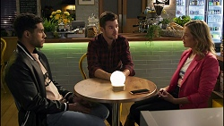 Levi Canning, Ned Willis, Amy Greenwood in Neighbours Episode 8675