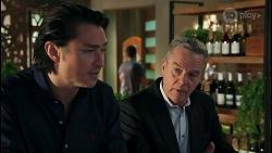 Leo Tanaka, Paul Robinson in Neighbours Episode 8676