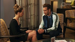 Chloe Brennan, Aaron Brennan in Neighbours Episode 8676