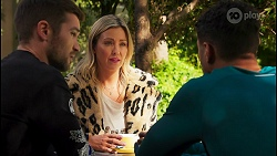 Ned Willis, Amy Greenwood, Levi Canning in Neighbours Episode 8676