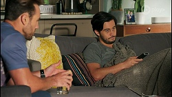 Aaron Brennan, David Tanaka in Neighbours Episode 8676