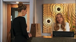 Chloe Brennan, Harlow Robinson in Neighbours Episode 8677