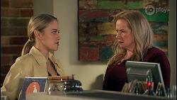 Roxy Willis, Sheila Canning in Neighbours Episode 8677