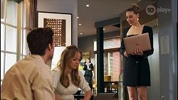 Jesse Porter, Harlow Robinson, Chloe Brennan in Neighbours Episode 8677