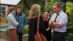 Mackenzie Hargreaves, Hendrix Greyson, Melanie Pearson, Sheila Canning, Toadie Rebecchi in Neighbours Episode 8677