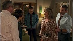 Karl Kennedy, Susan Kennedy, Hendrix Greyson, Melanie Pearson, Toadie Rebecchi in Neighbours Episode 8677