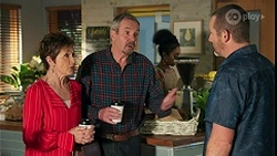 Susan Kennedy, Karl Kennedy, Toadie Rebecchi in Neighbours Episode 8678