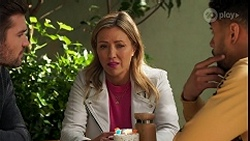 Ned Willis, Amy Greenwood, Levi Canning in Neighbours Episode 8678