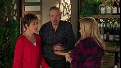 Susan Kennedy, Karl Kennedy, Sheila Canning in Neighbours Episode 8678