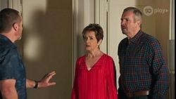 Toadie Rebecchi, Susan Kennedy, Karl Kennedy in Neighbours Episode 8678