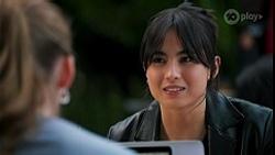 Mackenzie Hargreaves, Nora Ahmadi in Neighbours Episode 8678