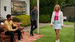 Levi Canning, Ned Willis, Amy Greenwood in Neighbours Episode 8679