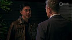 John Wong, Paul Robinson in Neighbours Episode 8679
