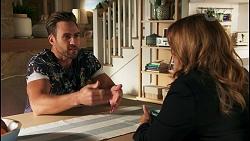Aaron Brennan, Terese Willis in Neighbours Episode 8680