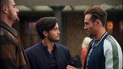 Kyle Canning, David Tanaka, Aaron Brennan in Neighbours Episode 8680