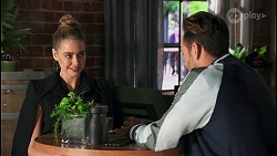 Chloe Brennan, Aaron Brennan in Neighbours Episode 8680