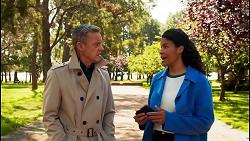 Paul Robinson, Audrey Hamilton in Neighbours Episode 8680