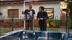 Kyle Canning, David Tanaka in Neighbours Episode 8680