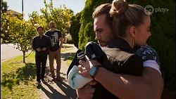 David Tanaka, Kyle Canning, Aaron Brennan, Chloe Brennan in Neighbours Episode 8680