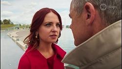 Nicolette Stone, Paul Robinson in Neighbours Episode 8681