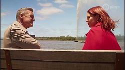 Paul Robinson, Nicolette Stone in Neighbours Episode 8681
