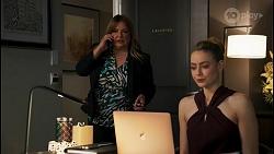 Terese Willis, Chloe Brennan in Neighbours Episode 8682