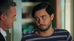 Paul Robinson, David Tanaka in Neighbours Episode 8682