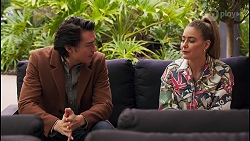 Leo Tanaka, Chloe Brennan in Neighbours Episode 8682
