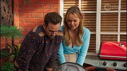 Aaron Brennan, Harlow Robinson in Neighbours Episode 8683