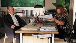Paul Robinson, Terese Willis in Neighbours Episode 8683