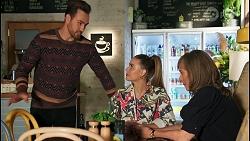 Aaron Brennan, Chloe Brennan, Jane Harris in Neighbours Episode 8683