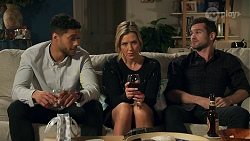 Levi Canning, Amy Greenwood, Ned Willis in Neighbours Episode 8685