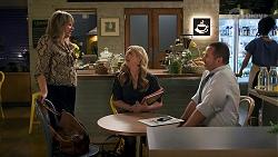 Melanie Pearson, Rose Walker, Toadie Rebecchi in Neighbours Episode 8685